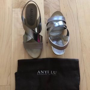 Anyi Lu Sling Back Heels